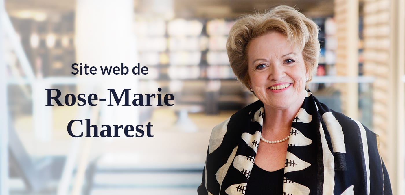 Site web Rose-Marie Charest